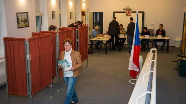 Komunální volby 2018 ve Velešíně.