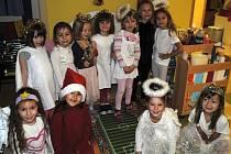 Děti z Mateřské školky T. G. Masaryka.