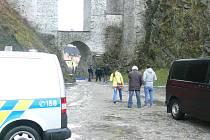 Policie uzavřela místo tragédie.