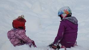 Zimu si užívají venku