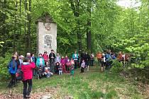 Kájovský spolek  Radost pro všechny pořádal už jedenáctý pochod Kolem Kájova, tentokrát do Českého Krumlova.