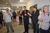 Po slavnostní premiéře filmu Malše v Kaplici se jeho tvůrci Pavel Hrádek a scénárista Jan Matěj Krnínský sešli s diváky a pozvanými hosty.
