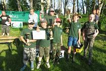 V Kájově se konalo okresní kolo soutěže mladých rybářů Zlatá udice.