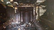 Frymburskému hotelu shořela sauna.
