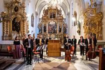 Slavnostní koncert 34. Festivalu komorní hudby v Českém Krumlově.