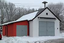 Hubenovská hasičárna po kompletní rekonstrukci.