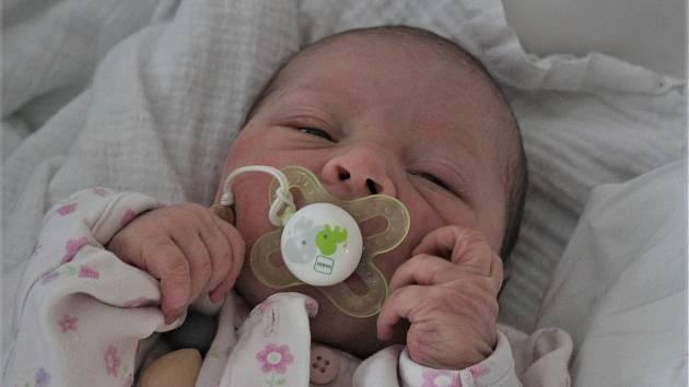 Natálka Pospíšilová, která se narodila 19. ledna 2020 v 12.13 s hmotností 3 400 g, bude poznávat svět ve Frymburku. Jejími rodiči jsou Zuzana Schánělcová a Vladimír Pospíšil a je to jejich první miminko.