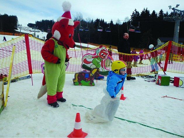 Na Lipně se lyžovalo až do Velikonoc.