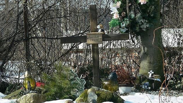 Omlenickou tragédii připomínají u plotu od silnice dva kříže.