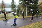 Frymburk – Svatý Tomáš Roller Ski Tour 2019 se jela v sobotu 9. listopadu na 33 km dlouhé trati.