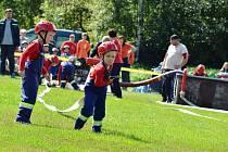 Malí hasiči v Besednici.
