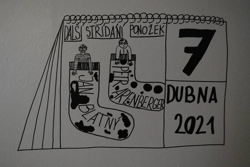 Z kresleného koronadeníku Julie Klusákové.
