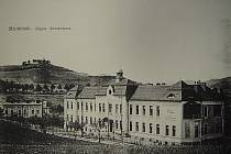 Nemocnice v roce 1911.