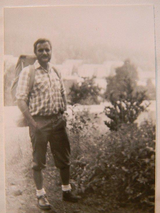 Petr Resch v roce 1988 na začátku poutě kolem republiky.