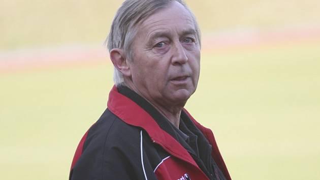 Trenér Karel Švarc.