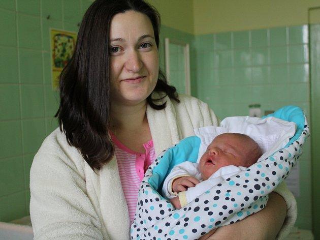 Stravovací balíček byl příjemným překvapením pro maminku Lenku Michlovou z Velešína, která v krumlovské nemocnici rodila již podruhé.