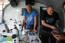 Vědeský tým připravil během svého výzkumu v Lipně edukační den pro veřejnost nazvaný Zažij vědu na Lipně.