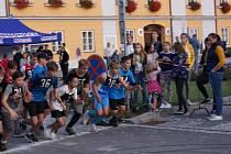 Jakub Janda vyhrál Večerní běh Kaplicí o parník.