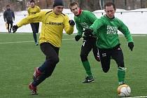 Hlubocká zimní liga 2010 / FK Lažiště - FK Slavoj Český Krumlov 0:4 (0:1).