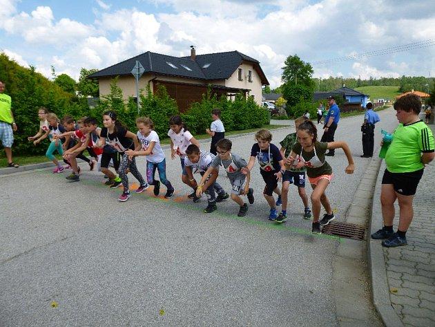 Třetí ročník atletického závodu Malontská míle.