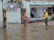 Povodeň na Latránu.