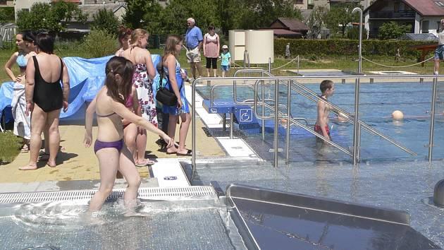 Velešínský bazén.