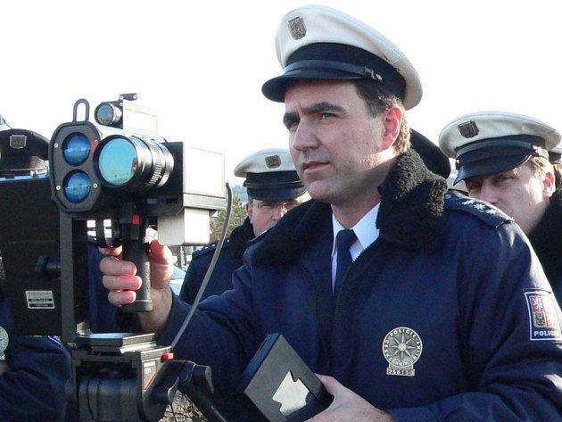 Šéf dopravního inspektorátu Lubomír Veselý.