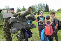 Dětský den v areálu Rekreačního zařízení Olšina.