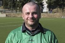 Náš jarní fotbalový expert, větřínský hráč Jiří Opekar.