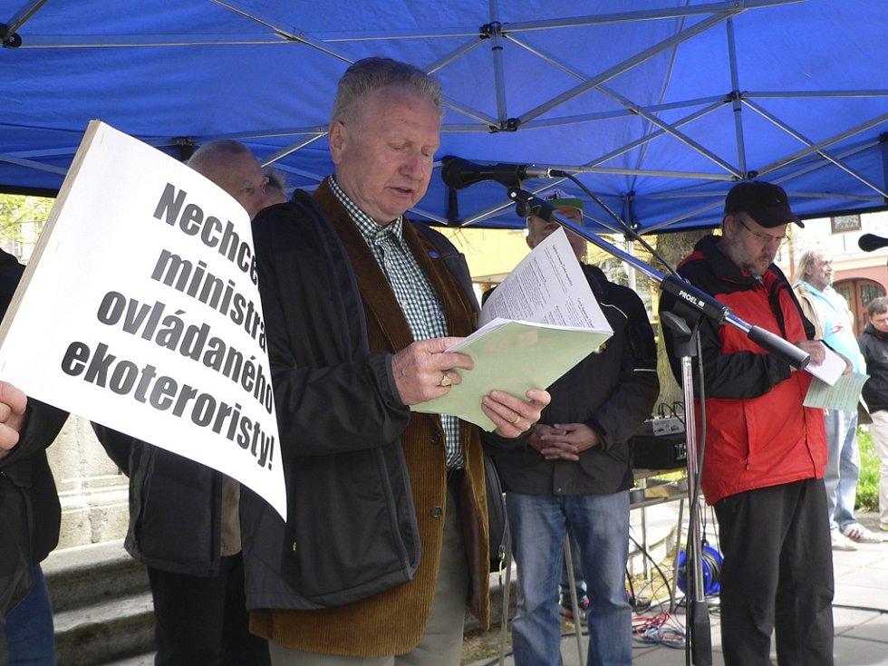 Úvodní slovo si vzal senátor Jan Veleba.