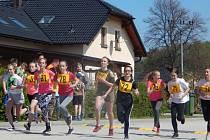 Děti od dvou do patnácti let se utkaly na běžeckém závodě Malontská míle.