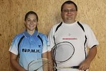Českokrumlovský trenér Radek Votava měl pro vystoupení své svěřenkyně Lucie Černé na nizozemském juniorském šampionátu v Haarlemu jen slova chvály.
