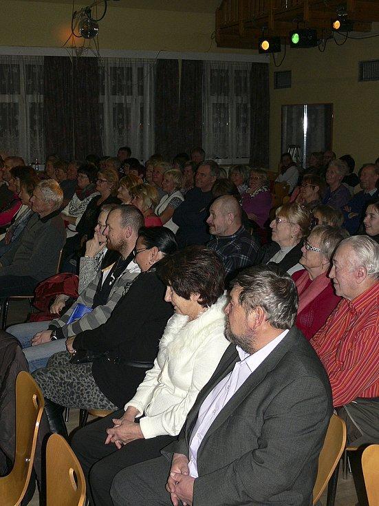 Ivo Šmoldas bavil publikum v Horní Plané.