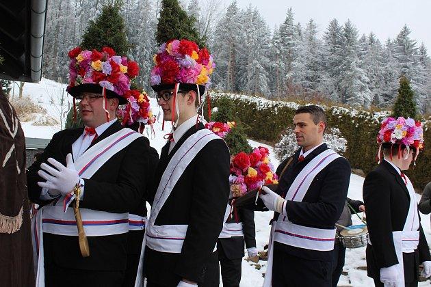 Růžičková koleda v Zubčicích.