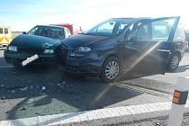 Dopravní nehoda u Dolního Třebonína.