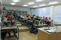 Gymnázium v Českém Krumlově pořádalo v sobotu tzv. přijímačky nanečisto.
