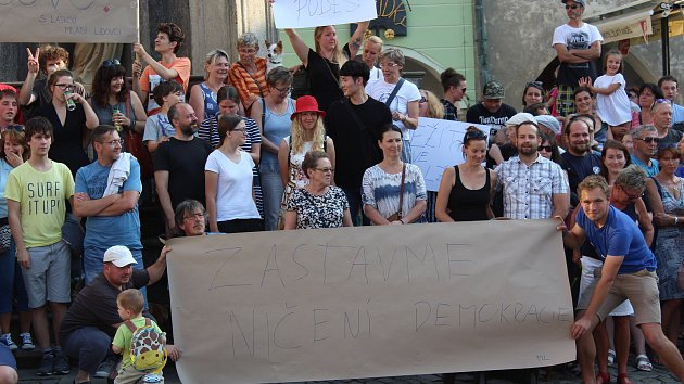 V Krumlově řekli jednou provždy ne vládě komunistů a StB