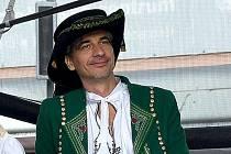Tomáš Barbořík na jedné z akcí v Přerově