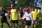 V Ústí si proti místnímu výběru zahráli fotbaloví internacionálové v čele s Antonínem Panenkou.