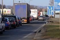 Polní ulice v Přerově
