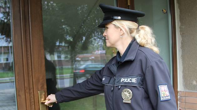 Přerovská policejní mluvčí Miluše Zajícová