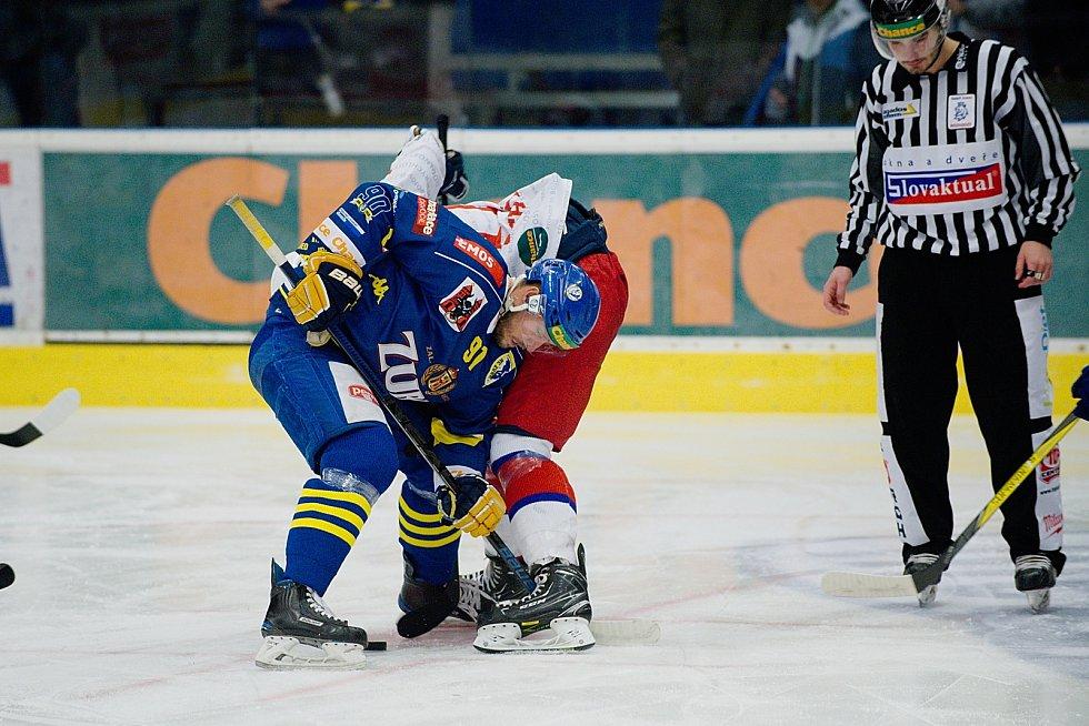 Hokejisté Přerova doma podlehli Porubě 3:5.