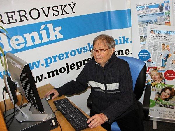 Primář Pavel Zíma při online rozhovoru Deníku