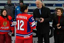 Lubomír Svoboda, člen organizačního výboru skončeného mistrovství světa v hokeji dívek do 18 let a marketingový manažer HC ZUBR Přerov