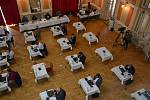 Jednání přerovských zastupitelů v době koronavirové. Ilustrační foto