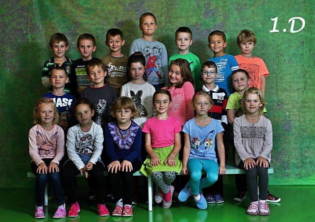 Základní škola Trávník, Přerov. 1.D. Třídní učitelka: Irena Keč Bergová