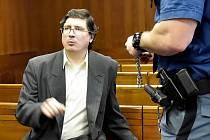 Pavel Nárožný u Vrchního soudu v Olomouci, 15. 1. 2020