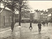 Začátek okupace 15. března 1939 v Přerově.