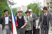 V rámci oslav konce války se konala v Želatovské ulici rekonstrukce Přerovského povstání, které bylo 1. května krvavě potlačeno Němci.