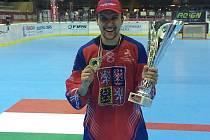 Mistr světa v inline hokeji 2016 Mikuláš Zbořil